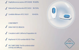 an-bact antimicrobial med. pvc pads