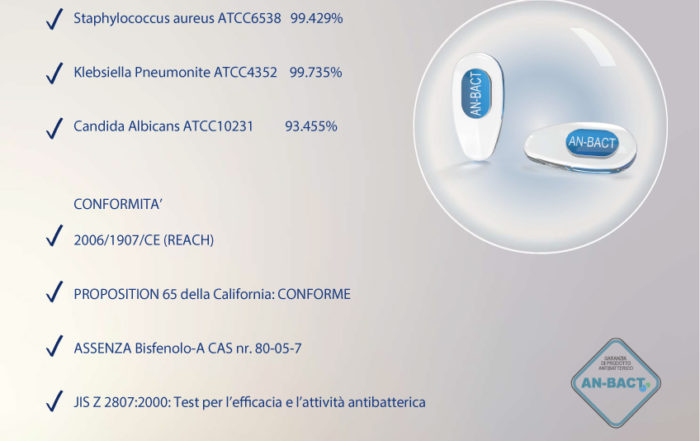 AN-BACT pvc med. antimicrobico